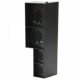 Silent Smart Super Cooling Fan Unit for PS4 Black
