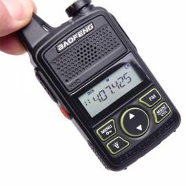 Baofeng BF-T1 20CH 400-470MHz Mini Walkie Talkie with Earphone US Plug