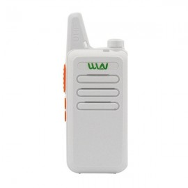 WLN KD-C1 UHF 400-470 MHz Transceiver Two Way  Walkie Talkie - White