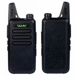 WLN KD-C1 UHF 400-470 MHz Transceiver Two Way  Walkie Talkie - Black