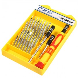 JACKLY 6066A 33 in 1 Portable Precision Screwdriver Repair Tool Kit