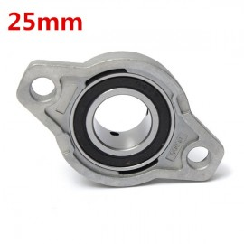 25mm Inner Diameter Zinc Alloy Pillow Block Flange Bearing KFL005