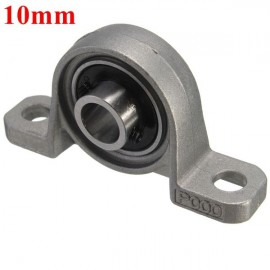 10mm Bore Diameter Zinc Alloy Pillow Block Mounted Ball Bearing KP000
