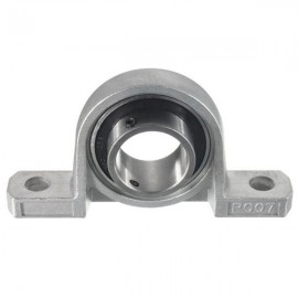 35mm Bore Diameter Zinc Alloy Pillow Block Mounted Ball Bearing KP007