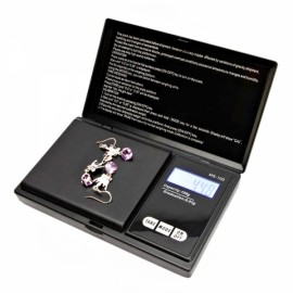 100g x 0.01g LCD Digital Jewelry Pocket Scale with Low Power Alarm