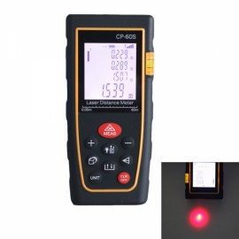 CPTCAM CP-60S Portable Handheld 60m Mini Laser Rangefinder / Distance Measuring Meter Black & Yellow
