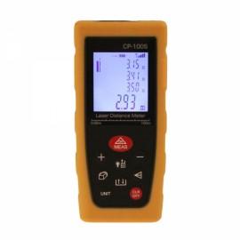"""CPTCAM CP-100S 1.8"""" Portable Handheld 100m Laser Rangefinder Yellow"""