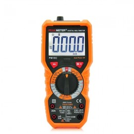 PEAKMETER Handheld Digital Multimeter AC DC Voltage Capacitance Meter