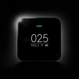 Original Xiaomi Smart OLED Display Accurate Laser Sensor Air Quality Monitor PM 2.5 Detector Black