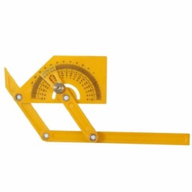 Angle Ruler Measuring Instrument Mechanism Slide Template Tool