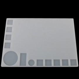 35 x 25cm Insulation Silicone Pad BGA Soldering Maintenance Platform