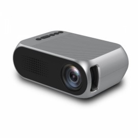 YG320 1080P HD Portable AV USB HDMI Video LED Mini Projector - EU Plug