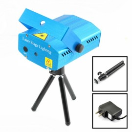 HWC-020A Starry Star Style Mini Lighting Projector Blue & Black(US Standard)