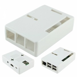 High-performance ABS Case / Box for Raspberry Pi 2 Model B & Raspberry Pi B+ White
