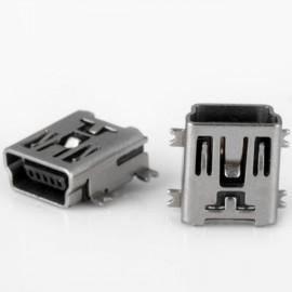 100pcs Practical DC 30V 1.5A DIY 5-Pin Mini USB FB Type SMT Socket Plugs Set