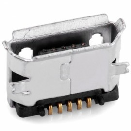 60pcs Practical DIY 5-Pin Micro USB Female SMT Socket Plugs Kit