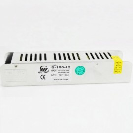 Mini 100W Switching Power Supply 85-265V to 12V 8.5A for LED Strip Light