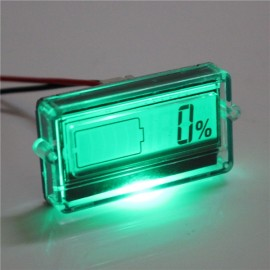 Battery Capacity Tester with LCD Indicator for 3 String Lithium LiPo