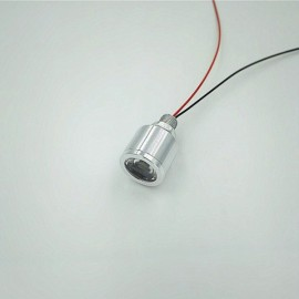 5VLED Lamp Small DIY Thumb Lamp Interface Highlight Model 3.7V Battery Bulb - Warm White