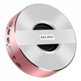 KELING A5 Wireless V4.0 1000mAh Portable Subwoofer - Pink