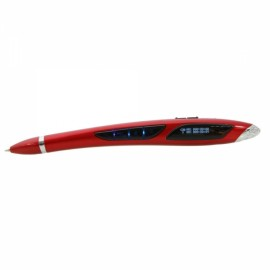8GB N19 Powerful Digital Recording Pen Plume Shaped with USB Cable Red