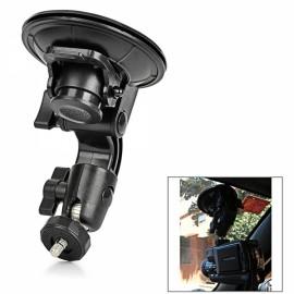Universal Car Swivel Mount Holder for Camera Black