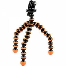 "6.5"" Mini Octopus Tripod + Adapter + Long Screw Set for Camera/Cellphone/GoPro Hero Series/SJ5000 Black & Orange"