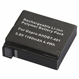 JUSTONE J116 AHDBT-401 3.8V 1160mAh Li-ion Polymer Battery for GoPro Hero 4 Black