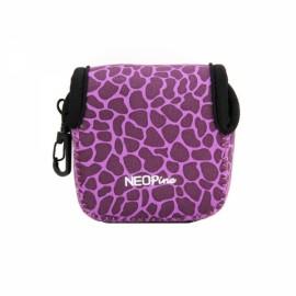 NEOpine Mini Protective Neoprene Camera Case Bag for GoPro Hero 2 / 3 / 3+ / 4 Purple