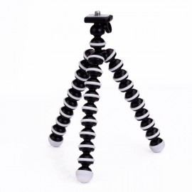 "6.5"" Mini Octopus Flexible Joints Camera Stand Tripod for SJ4000 / SJ5000 & GoPro Hero 1 / 2 / 3 / 3+ Black & White"