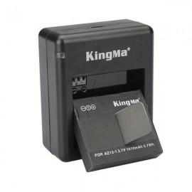 Kingma AZ13-1 3.7V 1010mAh Li-ion Battery for Xiaomi Yi Action Camera Black