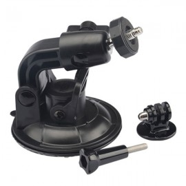KingMa Car Suction Cup Mount Holder  -  BLACK 144915201 for Xiaomi Yi / Gopro / Sony / SJ6000 Camera