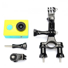 KingMa Bicycle Handlebar Mount Bracket Holder for GoPro Hero 4/3+ Black