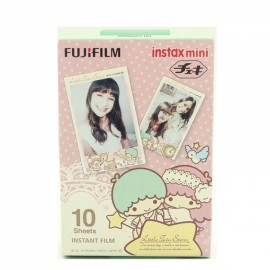 10 Sheets Fujifilm Fuji Instax Mini 7S/8/9/70/25/90 Camera Photo Paper - Little Twin Stars