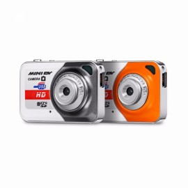 X6 Mini DV DVR Recorder Video Camera Orange + White