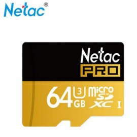 Netac P500 64GB Class 10 High Speed Micro SD Memory Card