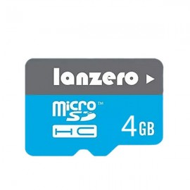 Lanzero 4GB High-speed Class 10 Micro SDHC SD TF Card Memory Card