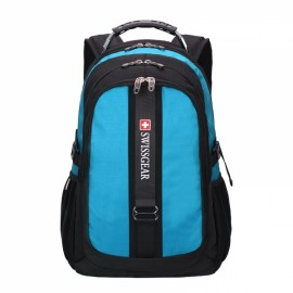 Durable Oxford High Capacity Backpack with External Headphone Jack Green