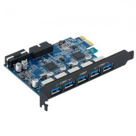 ORICO 5 Ports USB 3.0 PCI Express Card 5Gbps Compatible for Windows XP