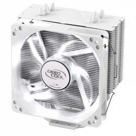 Deepcool 400 Snow Leopard Plus Version 12cm 4pin CPU Cooler Fan With LED for Computer - Silver
