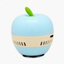 Mini Cute Apple Design Desktop Dust Collector Home Handheld Vacuum Cleaner Light Blue