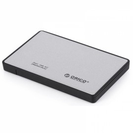 ORICO 2588US3 Ultra-thin 2.5 Inch USB 3.0 eSATA External Hard Disk HDD External Enclosure Silver