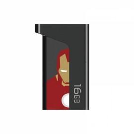 TLIFE 2-in-1 16GB OTG USB 3.0 Flash Drive Iron Man Pattern
