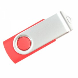1GB Rotate USB Flash Drive Red