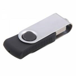 16GB Stylish Slimming Clip Shape USB Flash Drive Black