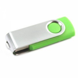 4GB Rotate USB Flash Drive Grass Green
