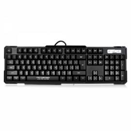 Motospeed K81 USB 2.0 Wired 104-Key Mechanical Cyan Shaft Gaming Keyboard Green