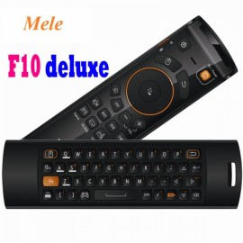 Mele F10 Deluxe 2.4GHz Portable Wireless Air Mouse Keyboard for Windows XP 7 8 Vista Linux Mac Black