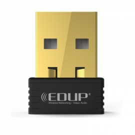 EDUP EP-N8553 MTK7601 Mini 150Mbps USB Wireless WiFi Network Network Card 802.11N Wireless LAN Adapter Black