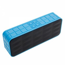 Y9 Portable Wiressless Bluetooth Speaker with Card Slot Black & Blue